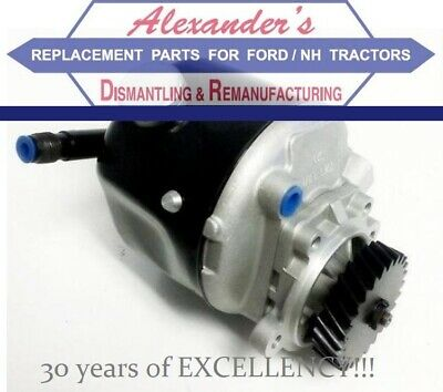D6NN3K514B Power Steering Pump /NEW/ for Ford New Holland 8000 8600 9000 9600 +