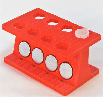 Magnetic Beads Separator Rack Stand Ampure 1.5 mL Eppendorf Tubes Purification