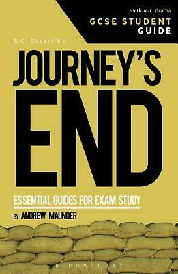Journey's End Gcse Student Guide by Andrew Maunder (English) Paperback Book Free
