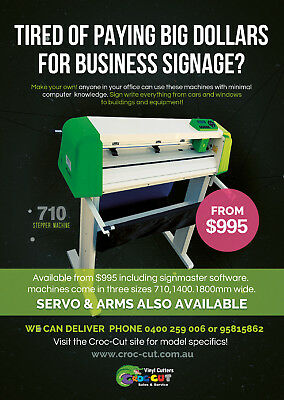 Vinyl Cutter Plotter With Free Signmaster Software