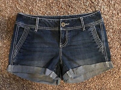 Womens ~MAURICES~ Jean Denim Shorts ~GREAT~ 1 2