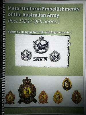 Australian Army (metal insignia) post '53 Vol 2 + 5th Aviation Regiment badges