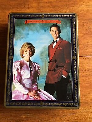 Princess Diana And Charles Wedding Special Edition Jigsaw Puzzle In Tin
