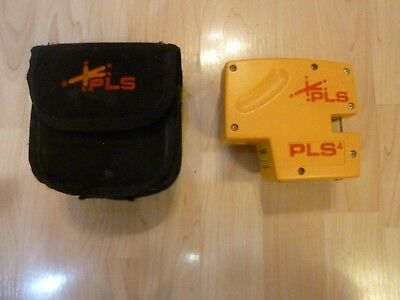 Pacific Laser Systems PLS 4 Dual Fan & Point Beam Laser w/ carry bag