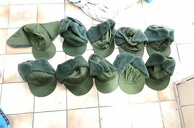 10 Genuine Swedish Army Military Issued Cold Weather Hat