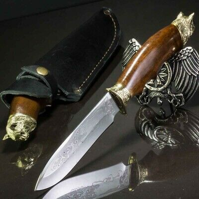 11.02in LUCHSE CUSTOM HANDMADE KNIFE HUNTING A.
