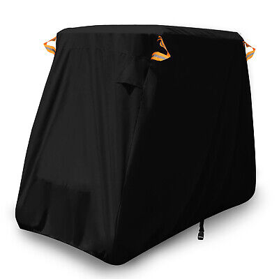 2-Passenger Waterproof Golf Cart Golfcar Storage Cover Fits Yamaha EZ Go Club