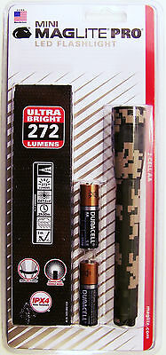 Maglite SP2PMRH Mini Mag 2-Cell Camo LED PRO Flashlight 272 Lumens Hunters Gift