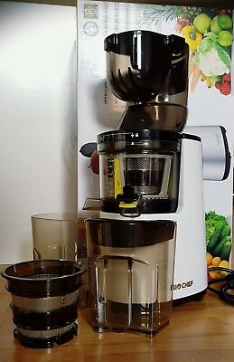 Entsafter BioChef Atlas Whole Slow Juicer - 250Watt, weiß