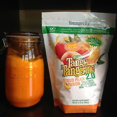 Ymart BTT 2.0 Peach Citrus Fusion Gusset Bag 960g by Youngevity