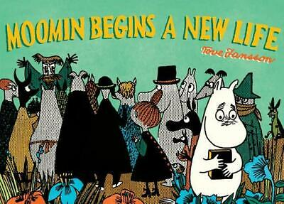 Moomin Begins a New Life by Tove Jansson (English) Paperback Book Free Shipping!