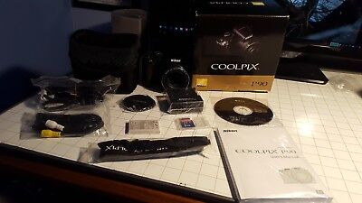 Nikon Coolpix P90 12.1MP Digital Camera with24xZoom and 3 inch Tilt LCD