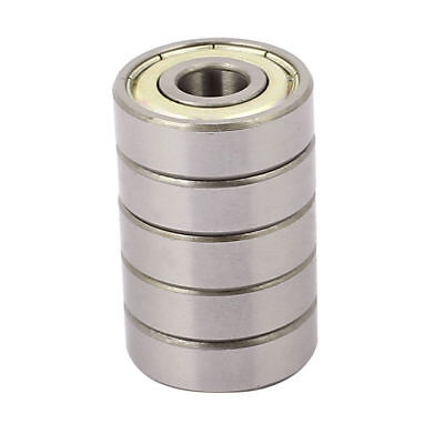 Metal Shielded Sealed Low Speed Deep Groove Ball Bearing 9mmx26mmx8mm 5pcs
