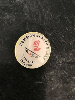 GC2018 commonwealth games. Northern Ireland pin