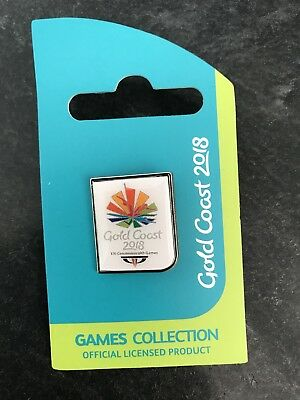 GC2018 commonwealth games pin