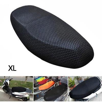 Mesh Ventilation Design Motorcycle Scooter Electric Bicycle Seat Cover Hot XL AC