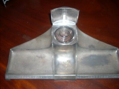 Monometal Antique Ink Well And Desk Set Tray