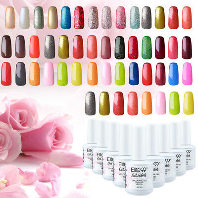 Elite99 UV LED Esmalte Semipermanente de uñas Base Top Coat Manicura Pedicura