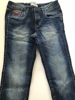Girls Lee Cooper Distressed Skinny Jeans With Adjustable Waist. Size 10