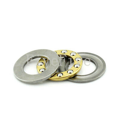 Inner Diameter 7-12mm F7-17M to F12-23M Axial Ball Miniature Thrust Bearing
