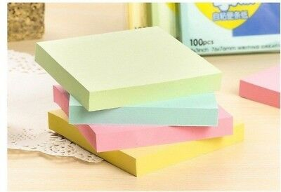 "2PCS 3x3"" Large Post-It Style Sticky Notes - Home Office Stationary"