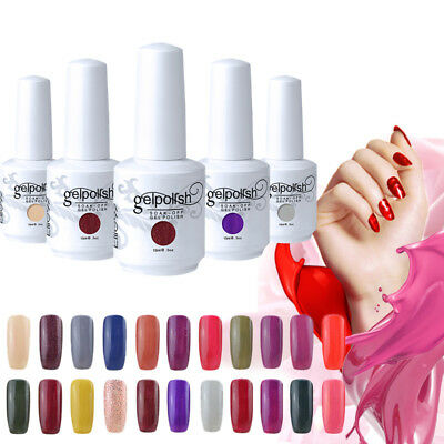 Elite99 UV LED Esmalte Semipermanente Brillante Uñas en Gel Base Top Coat 15ml