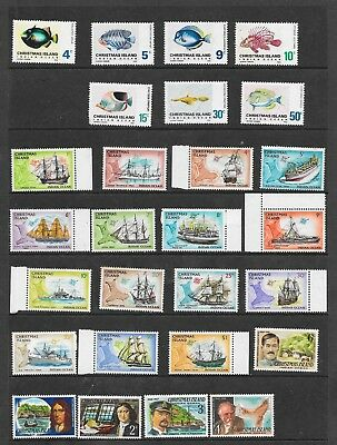 Five Scans Of Christamas Island Stamps Approx.$15 Face Value Mint