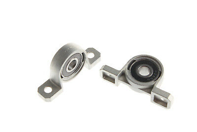 2Pcs Bearing Lead Screw Vertical Support Mounted Ball Pillow Block KP08 8mm
