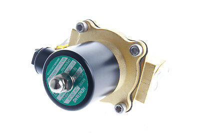 """1Pc Electric Solenoid Valve Water Air Ga 2W250-25 DC 24V G1"""" 2way Normal Closed"""