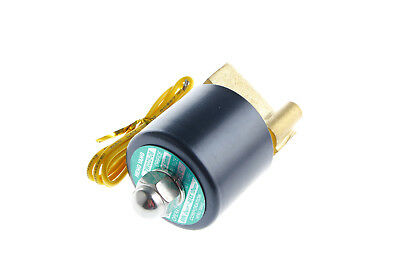 """12V 2 Way 2 Pos Switch 2W025-08 G1/4"""" Valve Water Air Devices Electric Solenoid"""
