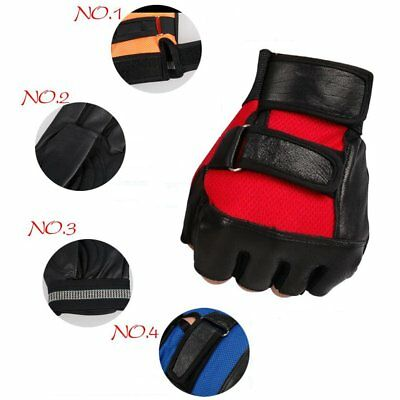 Weight Lifting Gym Running Riding Fitness Training Gloves Body Building