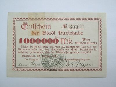 Buxtehude  1 Million 20.8.1923