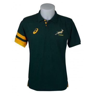 Asics South Africa Performance Polo 123235SR-4100~Mens~Rugby~S to XXXL RRP £35