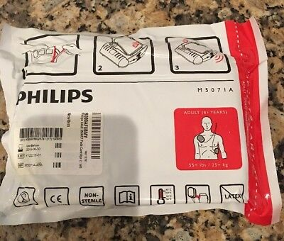 Philips HeartStart M5071A ADULT SMART PADS for Philips EXP 6/30/19 SEALED 👀