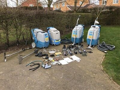 ****Offers Invited****Carpet Cleaning Spares Business Prochem Portable Machines
