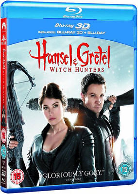 Hansel and Gretel - Witch Hunters 3D+2D Blu-Ray BLU-RAY NEUF (bsp2343)