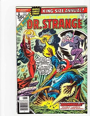 DR STRANGE KING-SIZE #1 1976 DOOMWORLD - ALL NEW MATERIAL - Condition 8.5 VF+