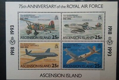 Ascension Island Flugzeuge Luftfahrt Aviation Aircraft Airplanes MNH **
