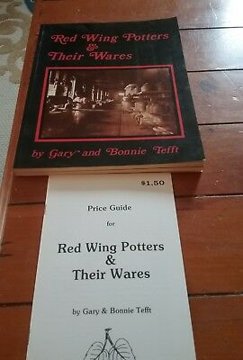 1981 Red Wing Potters & Their Wares Book & Price Guide Red Wing Stoneware