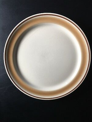 Hearthside Water Colors HORIZON Plates - SET OF 6 - Hand Decorated Stoneware