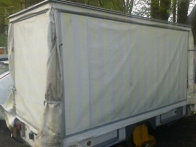 10ft CATERING TRAILER, CANOPY TRAILER, EVENTS TRAILER, FOOD & DRINK TRAILER