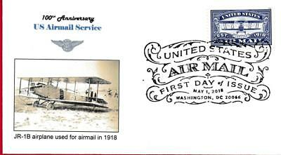 Airmail Forever, JR-1B Airplane, FDC 5-1-18