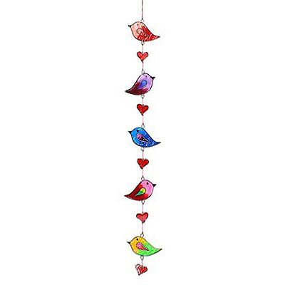 Suncatchers Colorful Bird Stained Glass Effect Resin Mobile - Beautiful...