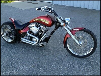 "2005 Custom Built Motorcycles Other  ** NO RESERVE ** 2005 PRECISION AGGRESSOR ""NIGHTMARE"" PRO STREET CRUISER"