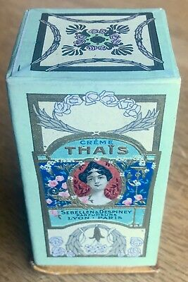 Orig early art nouveau Perfume pack Sebellen & Despiney French cosmetic pack