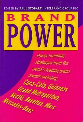 Brand Power by Stobart (English) Hardcover Book Free Shipping!