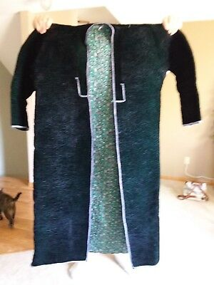 Hand Made Tajik Chapan Robe - Amazing, Beautiful; Black