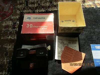 Original View-Master Stereoskop in OVP