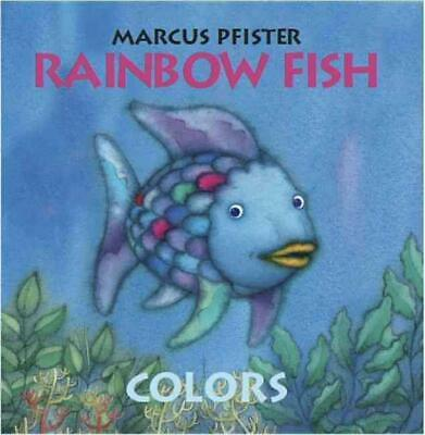 Colors by Marcus Pfister (English) Board Books Book Free Shipping!