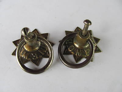 1893 New Home Treadle Sewing Machine Drawer Pulls Knobs